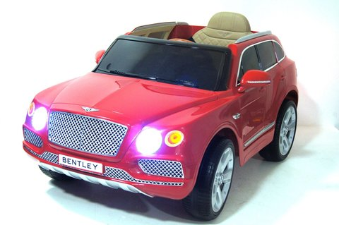 Электромобиль BENTLEY-BENTAYGA-JJ2158 красный