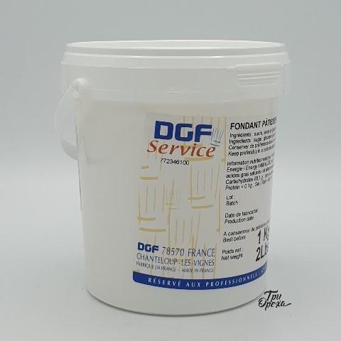 Помадка белая сахарная, паста DGF Royal, 1 кг