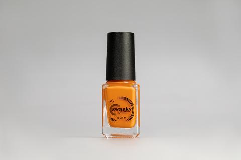 Лак для стемпинга Swanky Stamping №017, неоново-оранжевый, 6 мл.