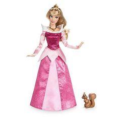 Кукла Принцесса Аврора (Aurora) Перевыпуск 2017 г. c питомцем - Спящая Красавица, Disney
