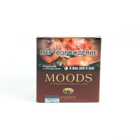 Сигариллы Moods Filter 10 шт