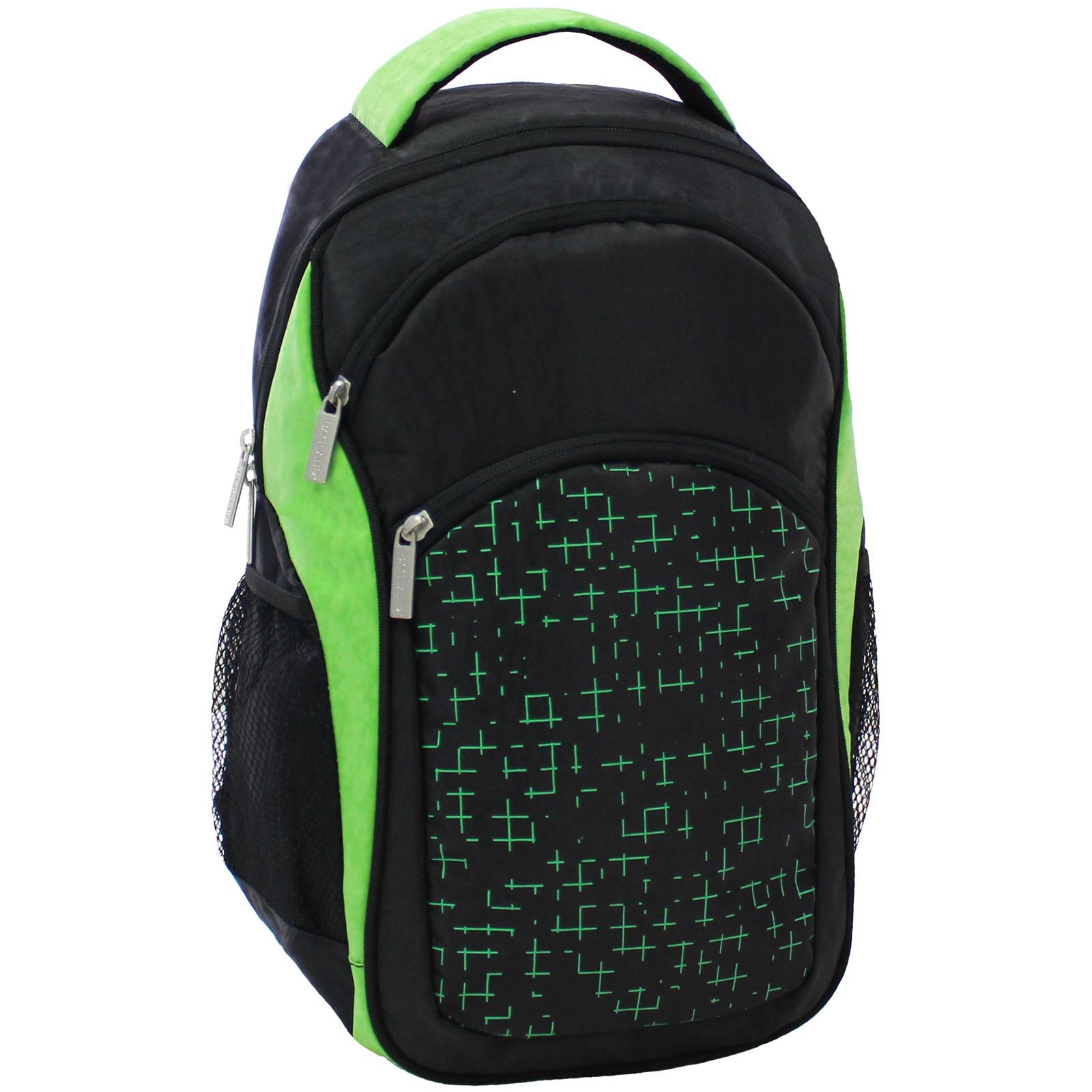 Городские рюкзаки Рюкзак Bagland Лик 21 л. Чёрный / салатовый (0055770) IMG_6471.JPG
