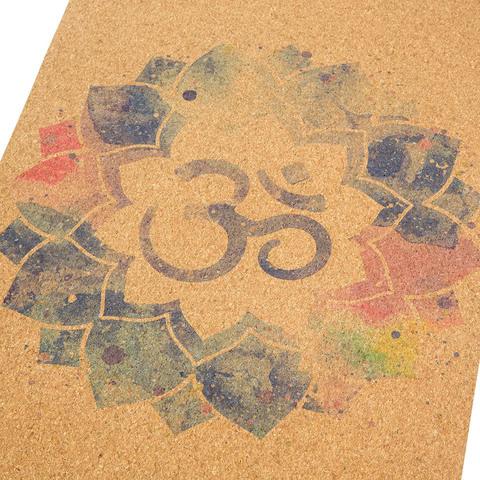 Пробковый коврик для йоги Mantra 183*61*0,3см