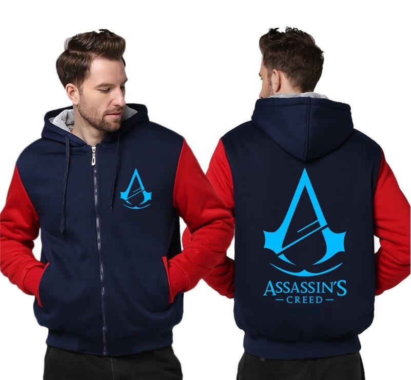 Куртка утепленная с капюшоном Ассассин Крид — Jacket Assassin's Creed