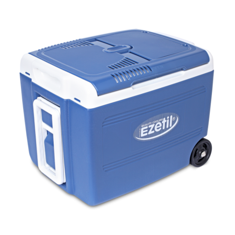 Термоэлектрический автохолодильник Ezetil E 40 M 12/230V Manual Boost 40 литров (синий)