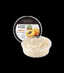 Маска для лица АБРИКОС из свежих фруктов, для чувствительной и нормальной кожи, 150ml ТМ Quizas