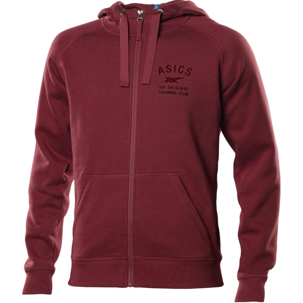 Мужская толстовка Asics Logo FZ Hoody (108560 0691)