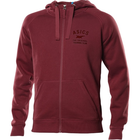 Толстовка Asics Logo FZ Hoody мужская