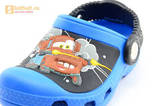 Сабо Крокс (Crocs) пляжные шлепанцы кроксы для мальчиков, цвет синий. Изображение 10 из 12.