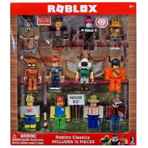 Классический набор Роблокс из 12 фигурок. Серия 1