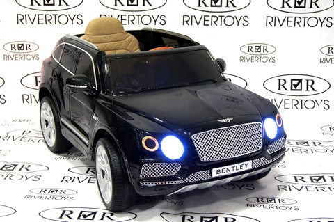 Электромобиль BENTLEY-BENTAYGA-JJ2158 черный