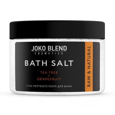 Соль Мертвого моря для ванн Чайное дерево-Грейпфрут Joko Blend 300 гр