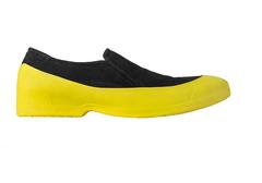 Мужские галоши открытого типа цвет желтый