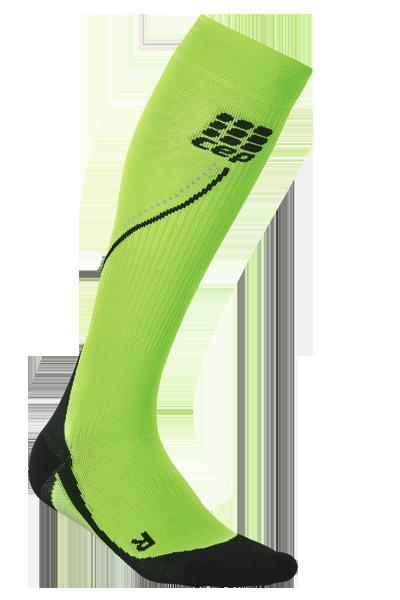 Мужские компрессионные гольфы CEP green (C12M Z)
