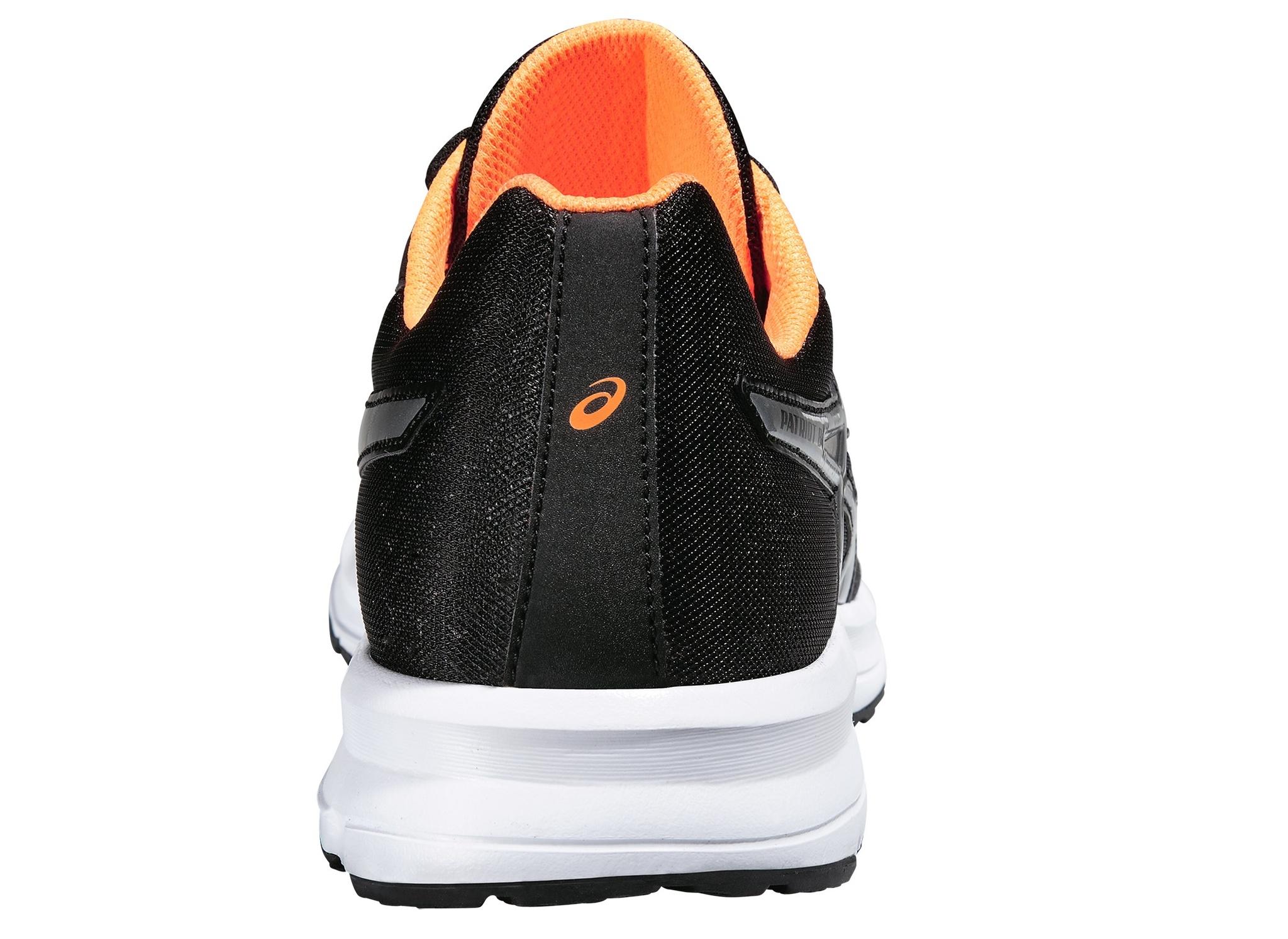 Мужские беговые кроссовки Asics Patriot 8 (T619N 9093) черные фото