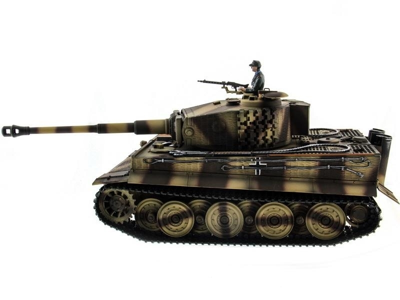 Радиоуправляемый танк Taigen German Tiger Late version 2.4G - TG3818-1B-P