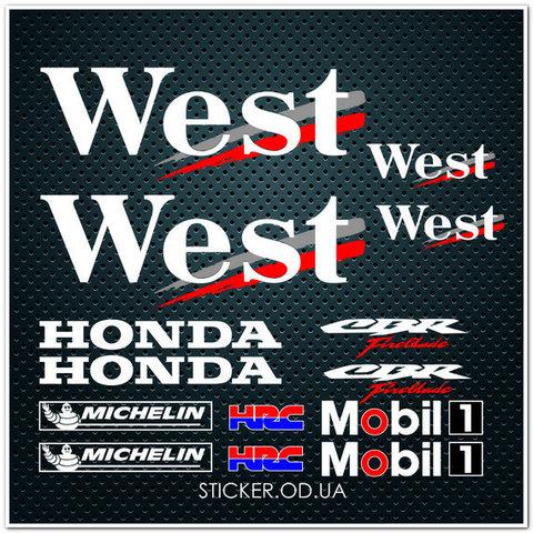 Набор наклеек для Honda CBR