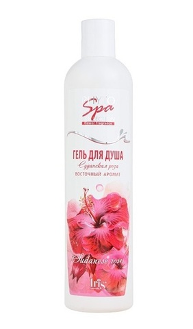 Iris Phyto Spa Collection Гель для душа Суданская Роза 400мл