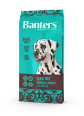 Banters Sensitive лосось с картофелем сухой корм для собак