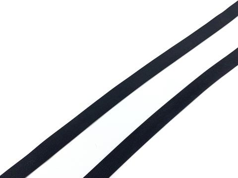 Резинка латексная для купальника черная 8 мм