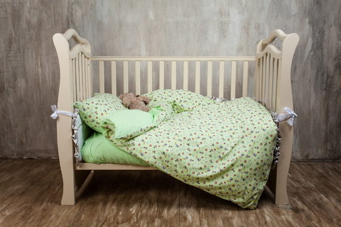 Детское постельное белье German Grass Kinder зеленое
