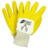Перчатки трикотажные с латексным ребристым покрытием (Nitras)