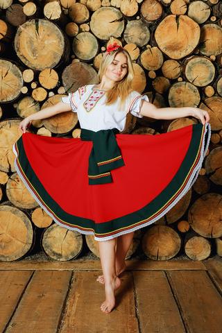 костюм в русском стиле