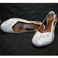 Летние белые туфли Marani Magli 031 405 White.