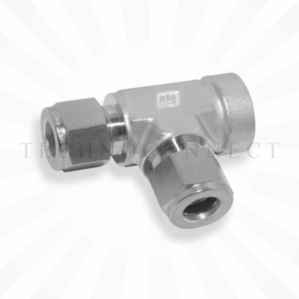 CRTA-10M  Тройник - адаптер проходной: фитинг 10мм- присоедин. фитинг  10 мм