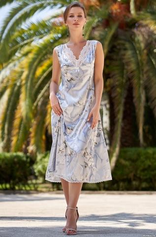 Длинная женская сорочка Mia-Amore NOVELLA  НОВЕЛЛА 3608
