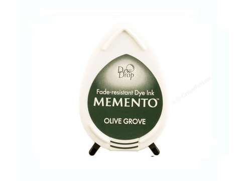 Штемпельная подушечка mini - MEMENTO - Olive Grove