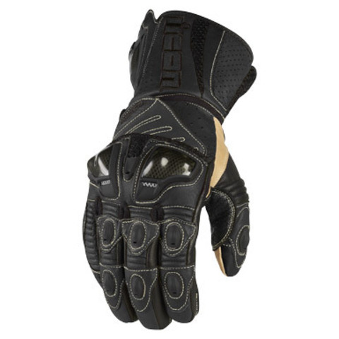 Мотоперчатки - ICON OVERLORD LONG (черные)