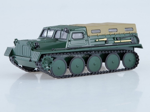 GAZ-47 GT-S crawler carrier snow and swamp-going vehicle 1:43 AutoHistory