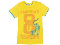 702-21 футболка детская, желтая