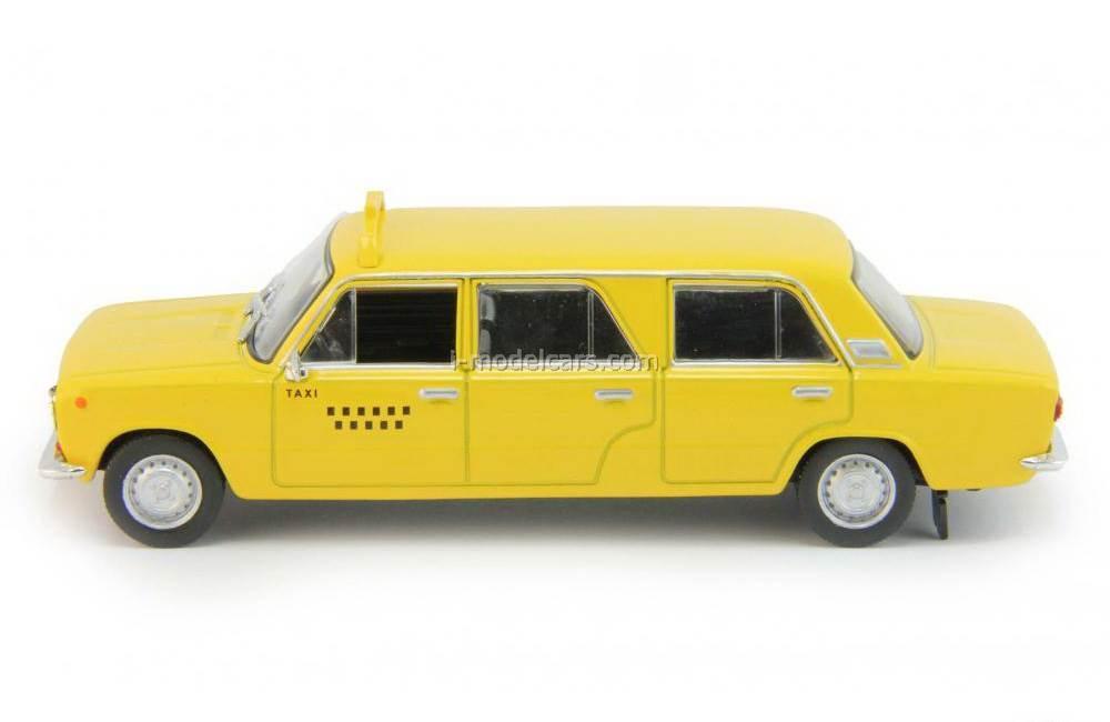 VAZ-2101 Lada Limo Limusina Taxi Cuba yellow 1:43 DeAgostini Auto Legends USSR #201