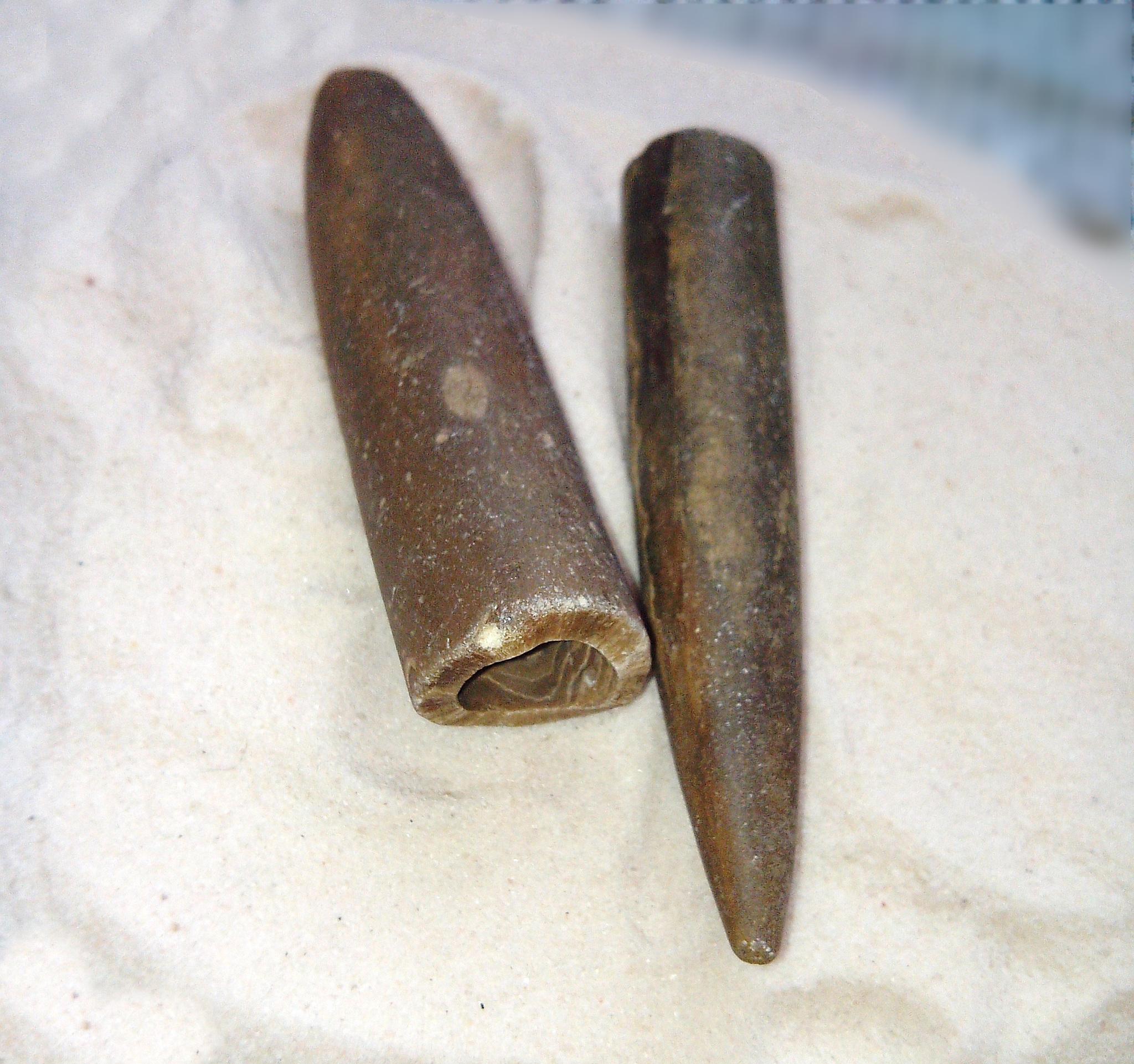 Белемнит необработанный. 8 см