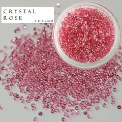 Хрустальная крошка розовая 1000 шт