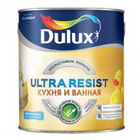 Dulux Ultra Resist/Дулюкс Кухня и Ванная ультрастойкая краска для влажных помещений