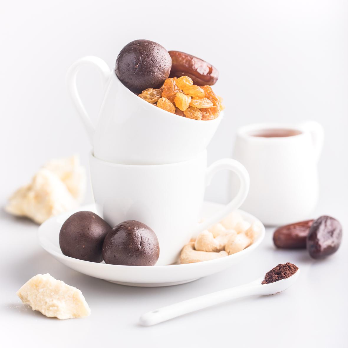 Полезная конфета Protein Ball. Шоколад (2 конфеты) 30 гр.
