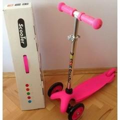 Самокат детский Scooter 21st Mini - Розовый.