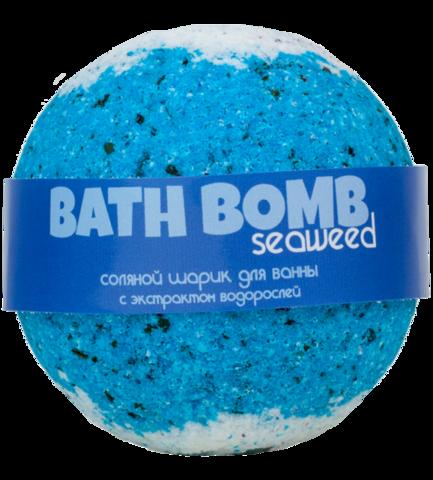 Бурлящий шарик для ванны Морские Водоросли | Savonry