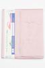 Простыня на резинке 180x200 Сaleffi Raso Tinta Unito с бордюром сатин нежно-розовая