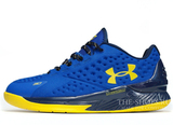 Кроссовки Мужские Under Armour Curry One Low Blue Yellow
