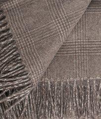 Плед 140х180 Kate коричневый от CO.BI.