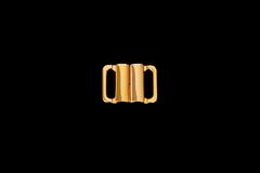 Застежка металл 15 мм золото