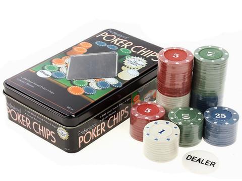 427370 Покер, набор для игры (100 фишек)