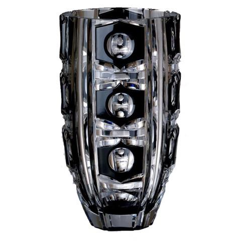 Вазы настольные Ваза Ajka Crystal Checker light vaza-30sm-ajka-crystal-checker-light-vengriya.jpg