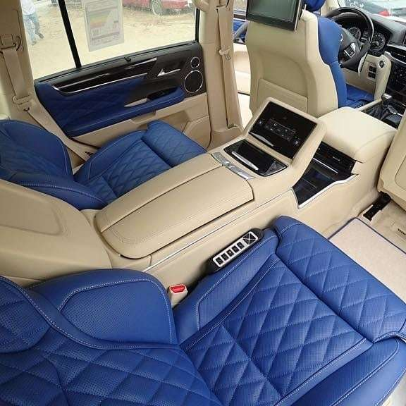 MBS Smart Seats for Lexus LX570