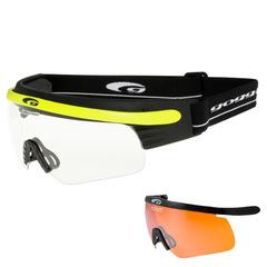 Комплект лыжные очки-маска Goggle Shima+, Линза Orange