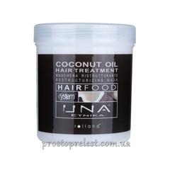 Rolland Una Hair Food Coconut Oil Restorative Conditioner - Маска для восстановления структуры волос Масло кокоса